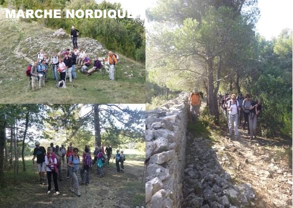 marche nordique association familiale de montsegur sur lauzon