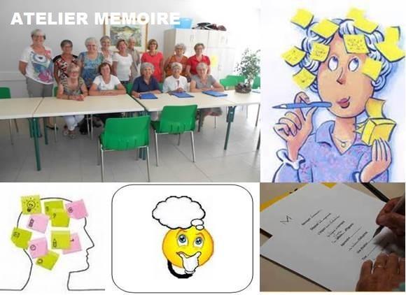 Atelier Mémoire de l'Association Familiale de Montségur sur Lauzon